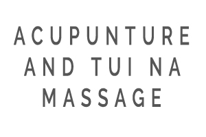 Acupuncture and Tui Na (twee na) information text